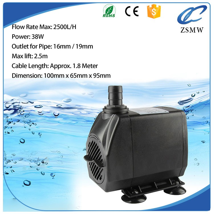 Metering pumps aquarium