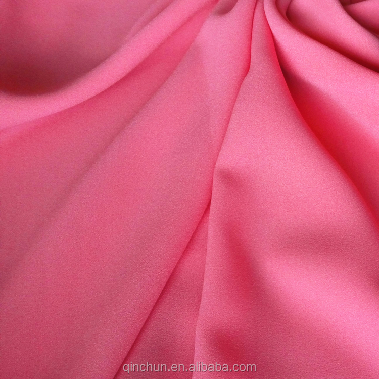 High quality stretch crepe fabric, Crepe de chine for <strong>fashion</strong> dress