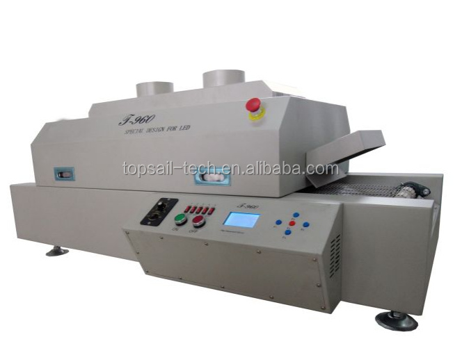 Reliable hot air reflow oven for led chip mounting Topsail TP-960 infrared soldering machine