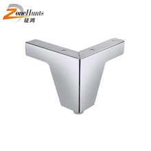 Modern Stout Furniture Leg Sofa Feet Modern Decorative High Quality Best Price Corner Metal Triangle Shaped Sofa Foot