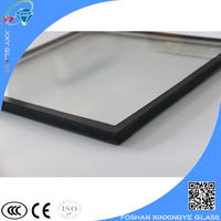 Hot sell insulated low-e glass unit price m2 for curtain wall