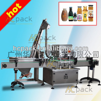 Automatic aluminium capping machine