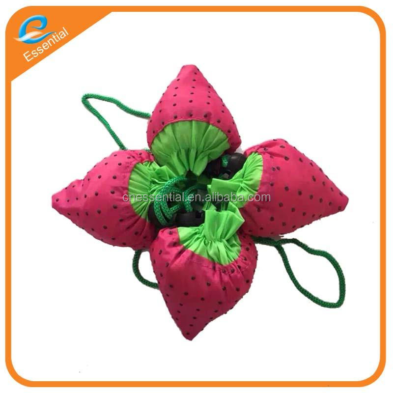 Fruit carry bag with strawberry watermelon shape