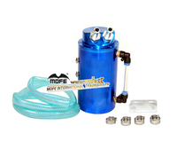 high quality 9mm Racing Aluminum Blue round Car Oil Catch tank
