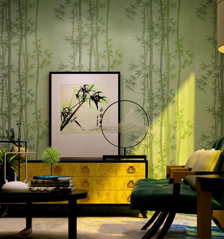 Hei er verkauf korea 3d effekt bambus wandtapete tapeten for Tapeten verkauf