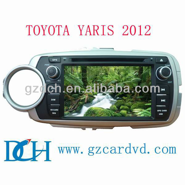 touch screen car dvd for toyota yaris 2012 WS-9234