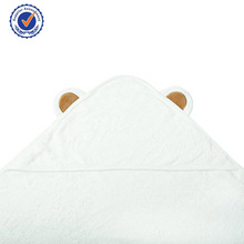 Panda face design 100% bamboo hot sale baby hooded bath towel