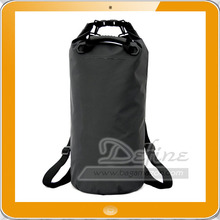Premium Waterproof Tarpaulin Wet Dry Bag with Dual Adjustable Shoulder Strap