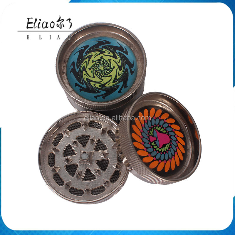 Wholesale Herb Grinder Manufacturer Cnc Tobacco 3 Pieces Metal Herb Grinder