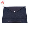 10 12 14 15 inch gray felt leather tablet sleeve notebook briefcase business laptop cover case