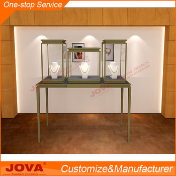 Jova modern jewelry counter design jewelry store display showcases