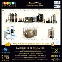 Most Trusted Very Famous Manufacturers of Machines for Production of Natural Mineral Water k358