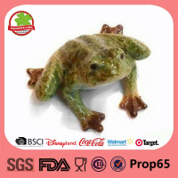 ceramic frog concrete garden decoration