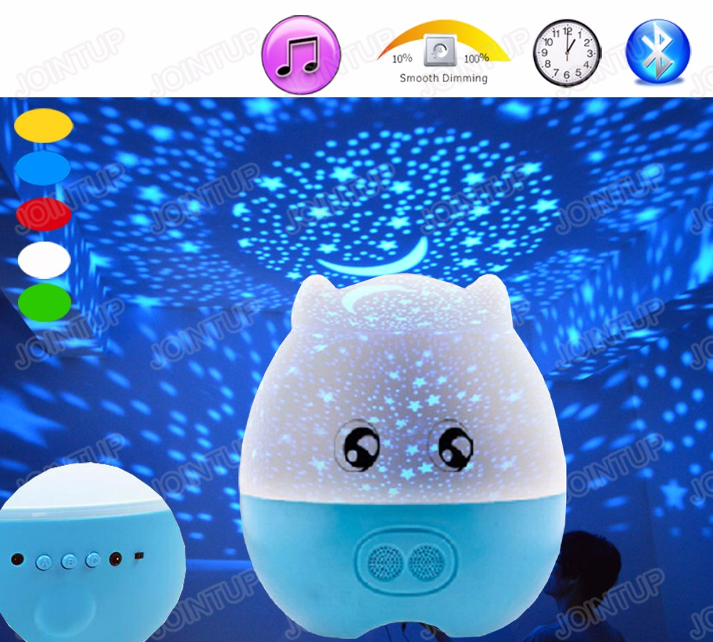 3Watt Rechargeable Bluetooth Remote Controllable 5-100% Brightness Dimmable Music Table Lamp Night Light with Self-Timer