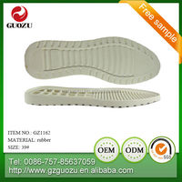 men casual shoe rubber sole
