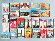 souvenir World travel commemorate tourist creative fridge magnet