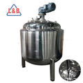 steel 20000L steam heating mixing tank with mixer
