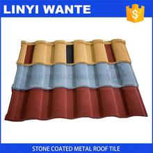 2017 New design Roman metal roof tile for construction