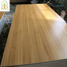 Excellent quality 12mm decorative melamine laminated plywood wall panel