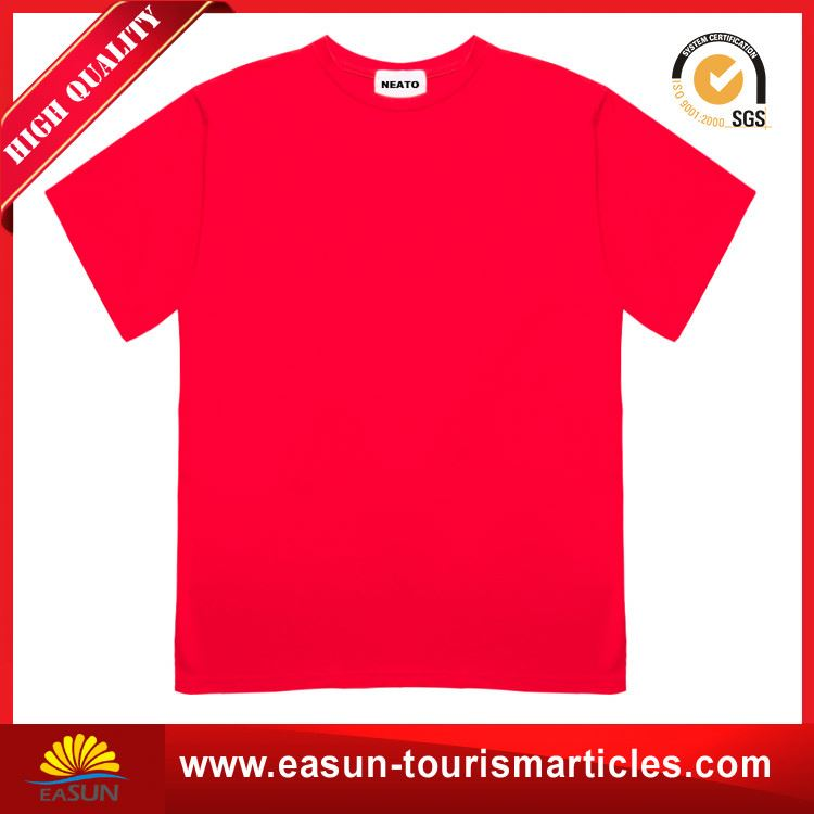 High quality t shirt embroidery sun wear t-shirt custom striped t shirt
