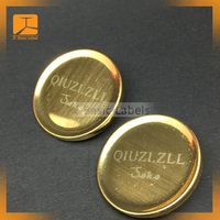 Metal alloy custom jeans button for jeans
