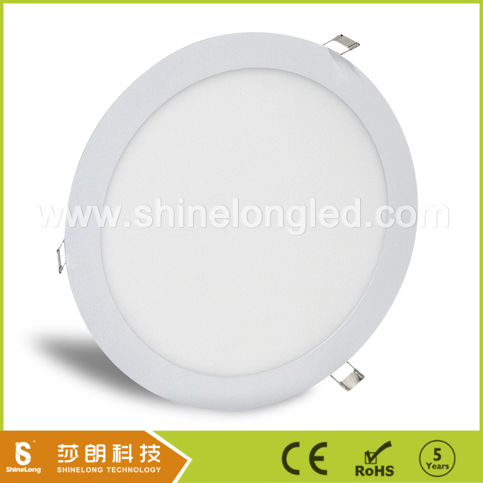 CCT dimming round led flat light built-in /recessed panel light