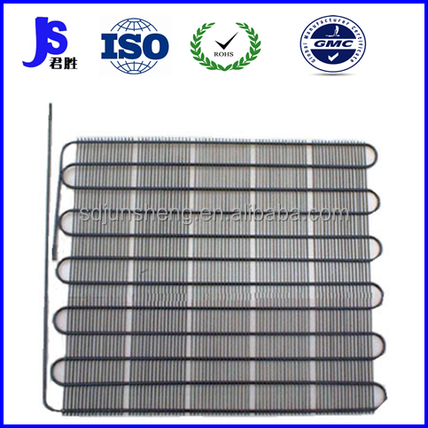 roll type of evaporator condenser for refrigerator chest freezer
