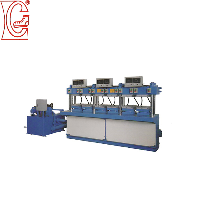 hydraulic press shoe sole machine is easy to use by united chen
