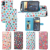 Polka Dot Pu leather flip Case Holder wallet Cover Cases For iPhone X Case For iPhone 4.7 inch Protective Housing case