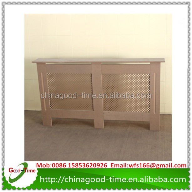 UK marketing KD design E1 radiator cover mdf