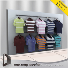 cloth display rack men wall stand clothing t shirt display stands