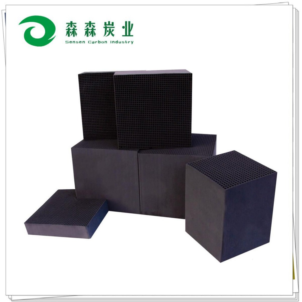 Coal based honeycomb activated carbon for air purification