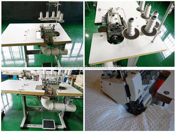 Heavy duty industrial Mattress Flanging covering Sewing machine