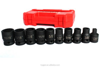 "Impact Socket Set 10PC 1/2"" Drive SAE Auto Repair Tool"