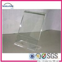 FREE SAMPLE Stand Up Acrylic Picture Frames Sign Holder