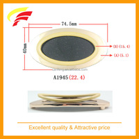 fashion zinc alloy oval shaped decorative belt buckle , two parts belt buckle
