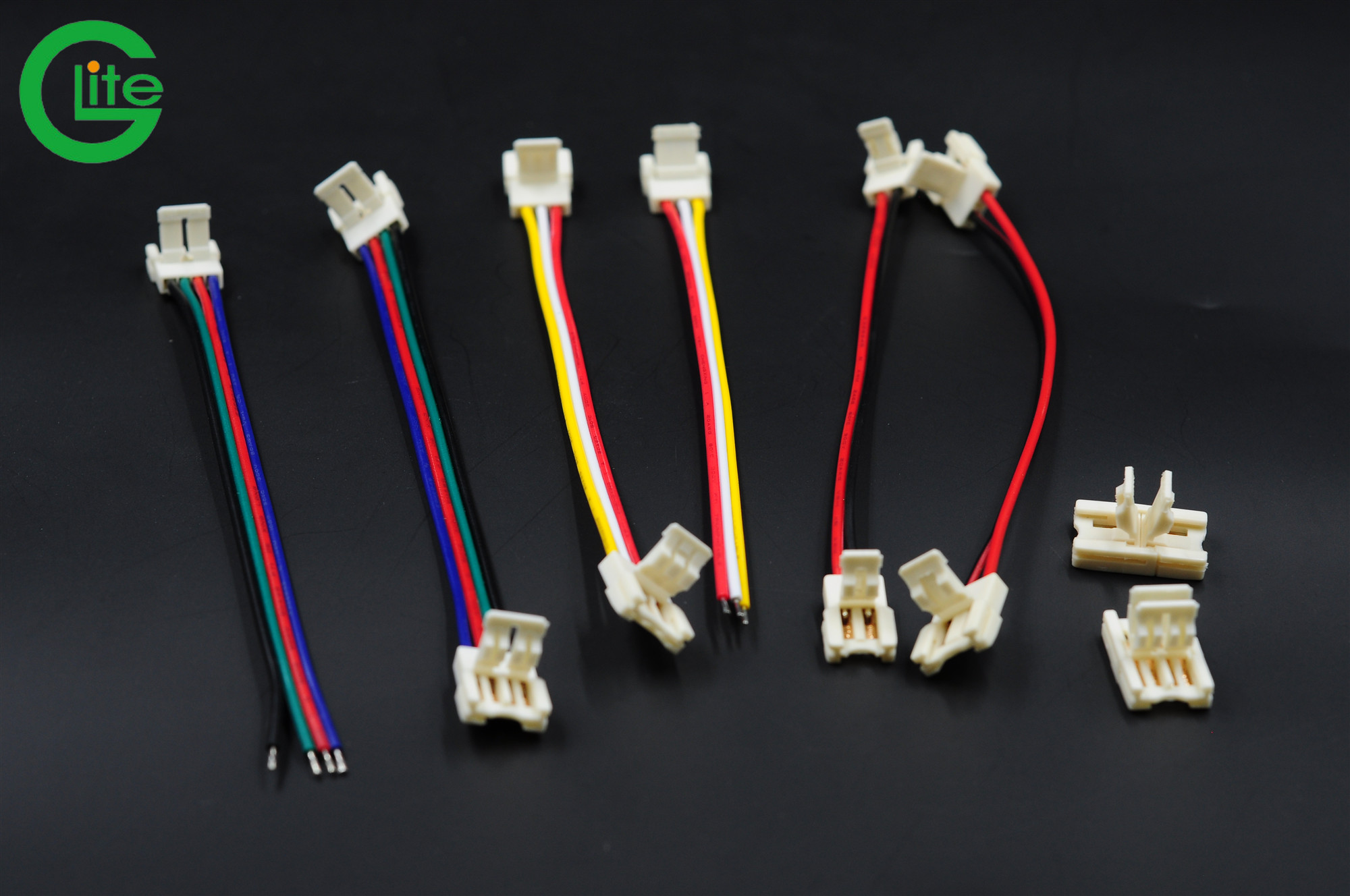 12v 24v 3528 2835 5050 led strip 2pin 10mm waterproof hippo connector