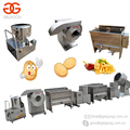 2017 Factory Price Surgeler Chips Production Line Potato Chips Making Machine Potato French Fries Equipment