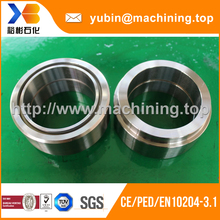 High quality CNC machining metal pipe collar by Yu Bin factory