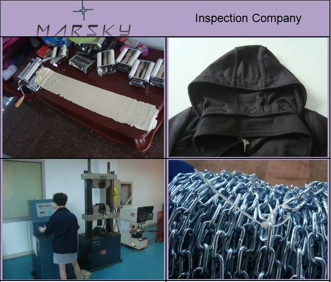 nspection in China /Marsky has a sound knowledge of European and US quality standards
