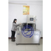Industrial dairy produce mini lab uht milk sterilizer machine