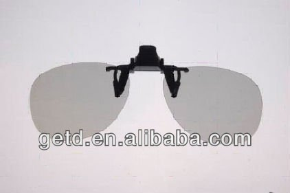 Hot-selling clip on 3D glasses for short-sight