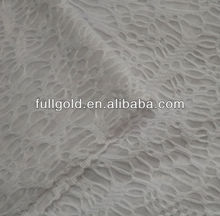 polyester and nylon thin tulle mesh fabric for embroidery and bridal decoration