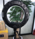 tezelong CY-r50l led photography ring light dimmable two temperature color lights 3200-5600k ringlight