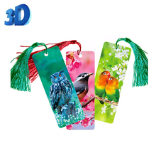 custom lenticular cartoon 3d bookmarks of fish nemo