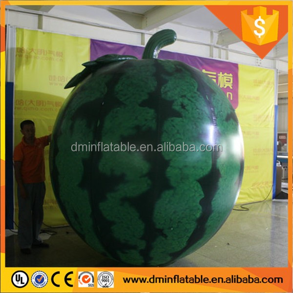 2016 Hot sale giant inflatable watermelon,inflatable pear,inflatable advertising fruit