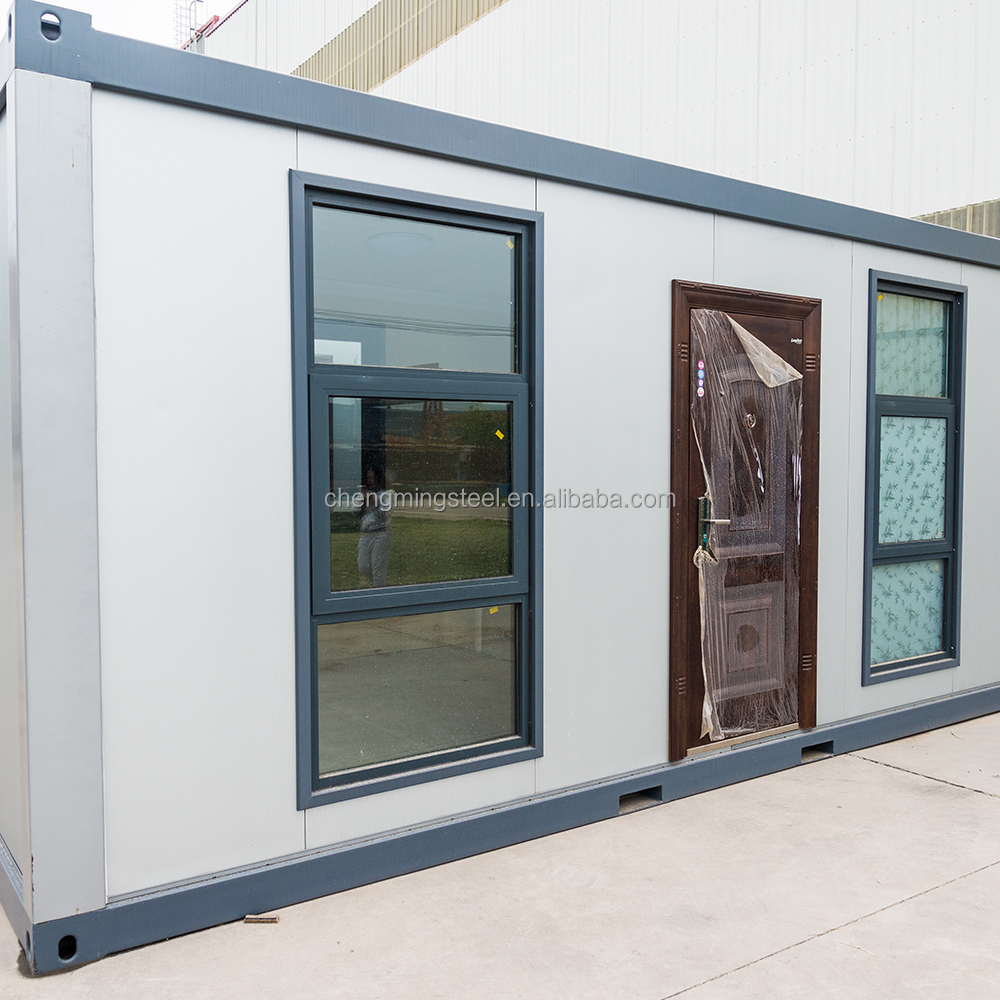 Transportable Small Pre-Made Rainproof Antiseismic Bahrain Hot Selling Sandwich Panel Container House