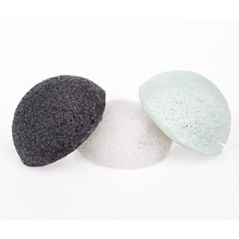Private Label Konjac Sponge Body Polishing Sponge Natural Konjac Facial Sponge With Paper Box