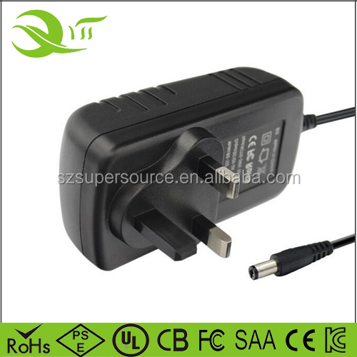 Wall Power Adaptor 19.5V 2A ac dc charger adapter power supply with 5.5*2.5 or 5.5*2.1mm for smartphones cameras
