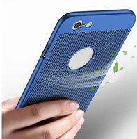 Net type heat dissipation silky rubber oil hard pc light weight cell mobile phone back cover case for Samsung Galaxy S6 Edge